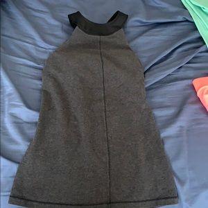 Lulu black and grey top